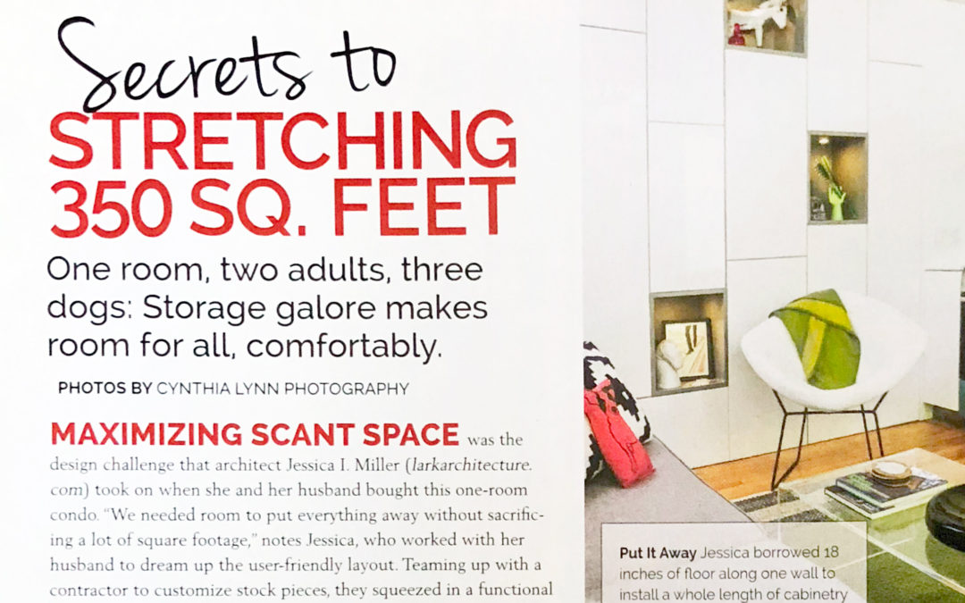 Secrets to Stretching 350 Sq. Feet