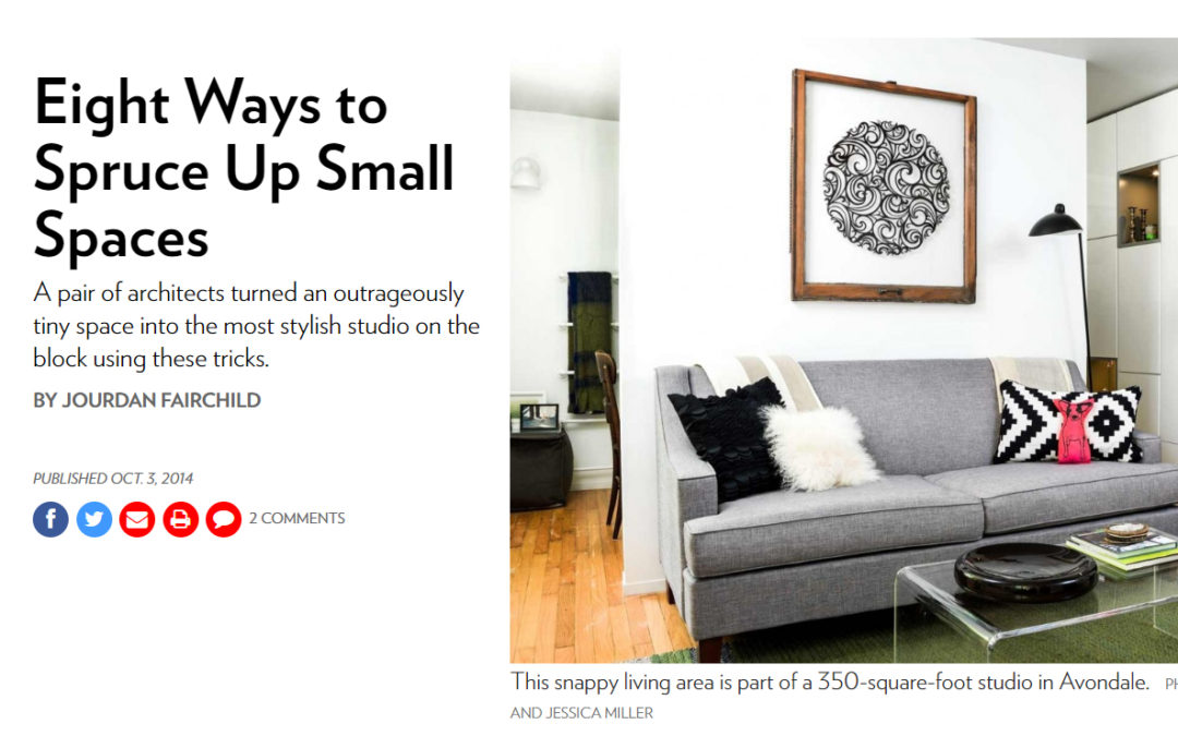 Eight Ways to Spruce Up Small Spaces